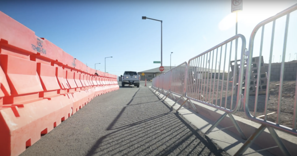 Pedestrian rails and barriers